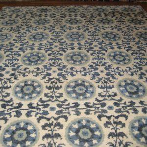 FKA Indo Suzani (Ivory/Blue)